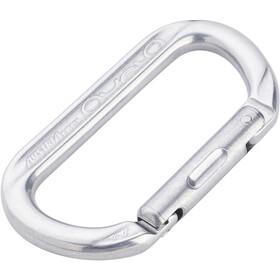 AustriAlpin Ovalock Snapgate Carabiner for safer belaying polished